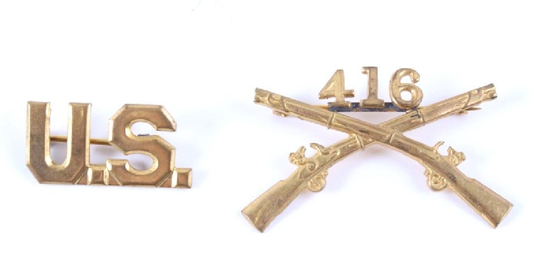 Collection of Assorted Military Pins and Medals - 3