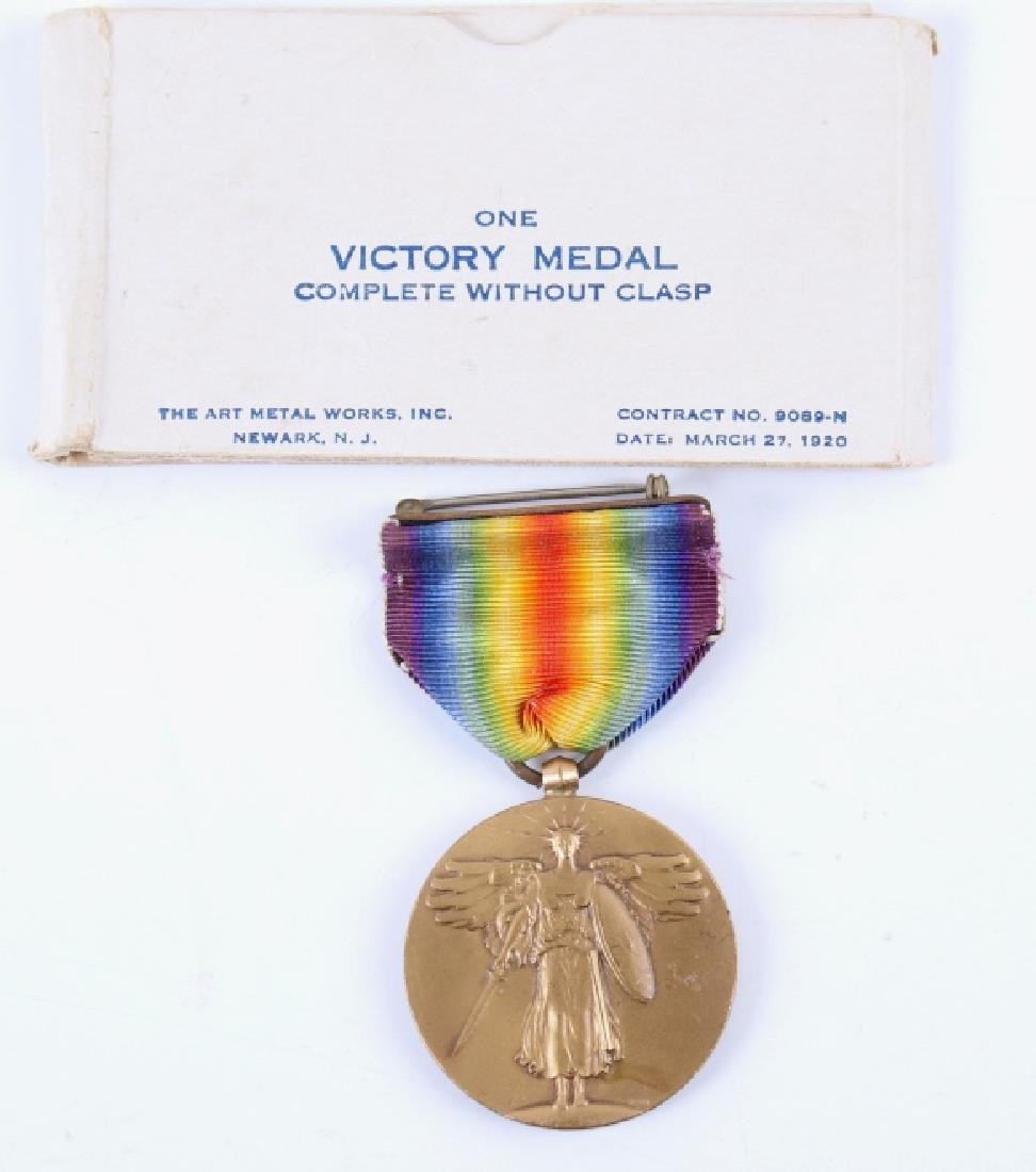 Collection of Assorted Military Pins and Medals - 7