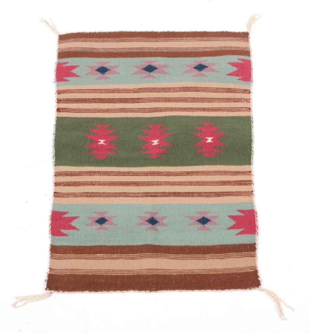 Navajo Native American Chinle Pattern Wool Rug
