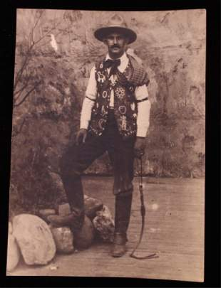 Earliest Known Photograph of Pawnee Bill 1800-1900