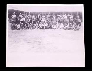 Miller Bros 101 Ranch Wild West Show Photo c.1900-