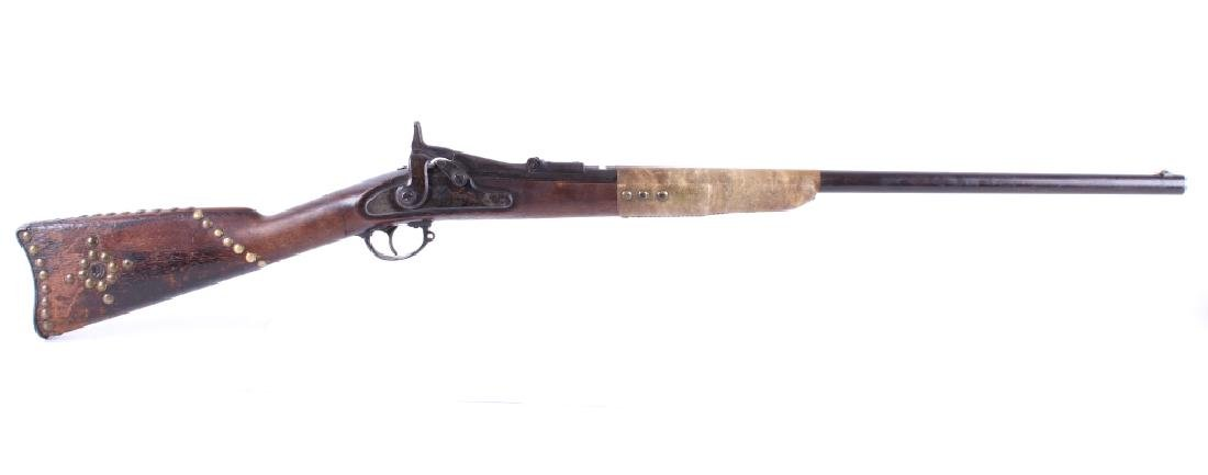Native American Tacked U.S. Springfield Model 1866