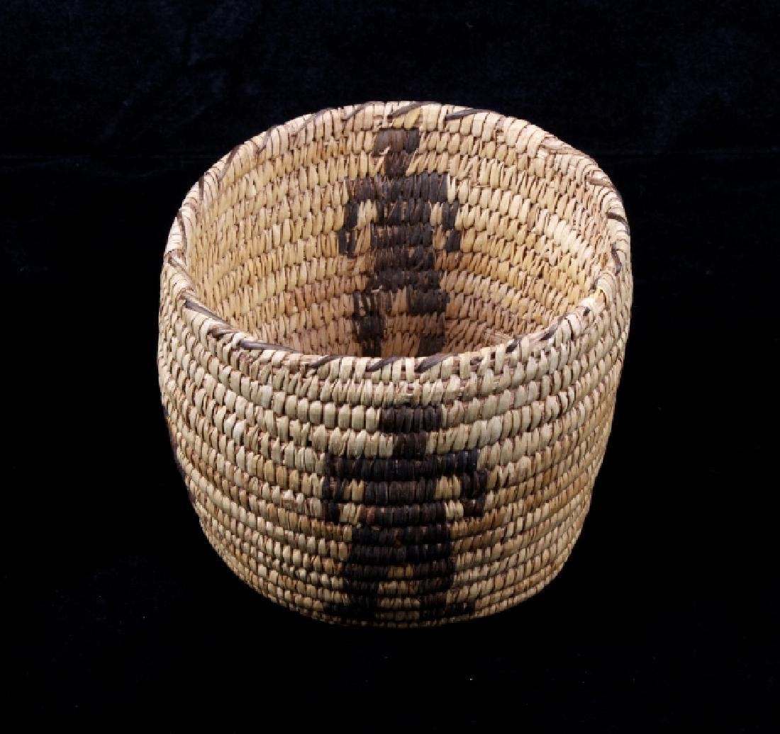 1930's Hand Woven Papago Indian Basket
