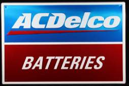 ACDelco Batteries Advertising Sign