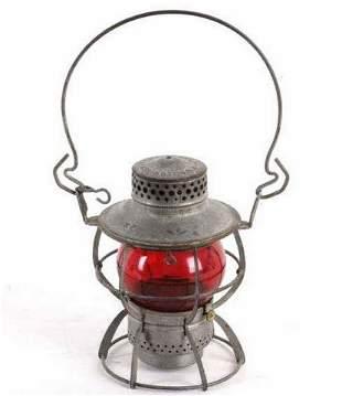Northern Pacific Red Dressel Railroad Lantern