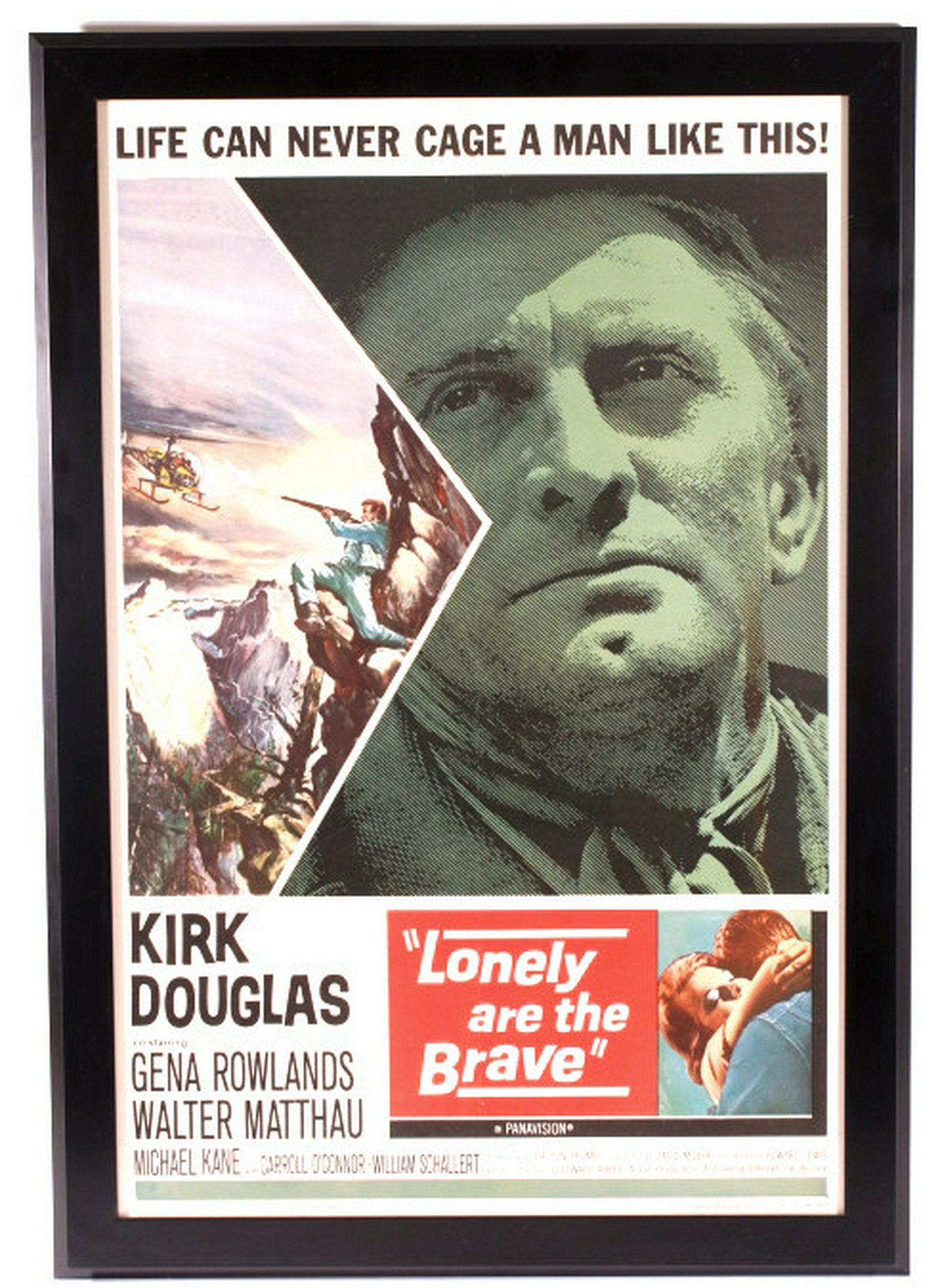 Lonely are the Brave Printed Poster C. 1962