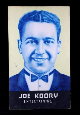 Early Billings Joe Koory Fratt Advertisement