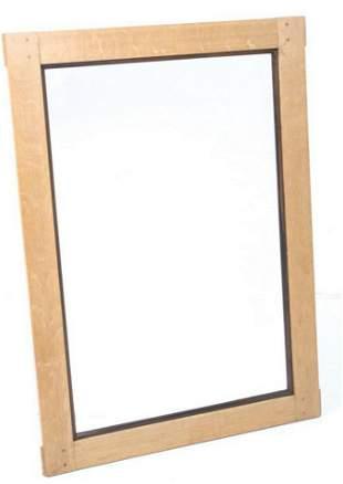 Mission Quarter Sawn Oak Hanging Wall Mirror