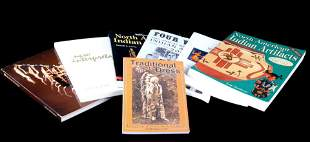 Collection of Native American Cultural Dress Books