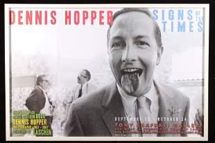 Original Dennis Hopper Signs of the Times Poster