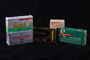 Assorted Unique Collectors Caliber Ammunition