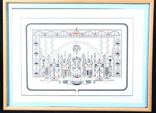 Douglas Johnson Signed Limited Edition Lithograph