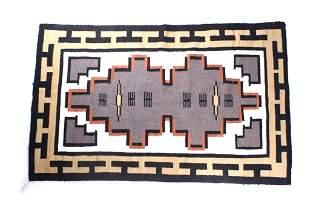 Navajo Klagetoh Trading Post Rug c. 1950's