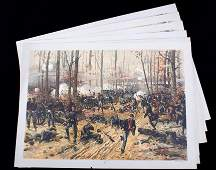 Battle of Shiloh Thulstrup c. 1888 Louis Prang