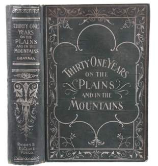 ThirtyOne Years On The Plains Mountains Drannan