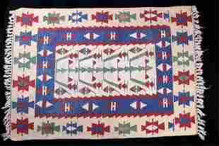 1900s Eastern Anatolian Cacus Tribal Kilim