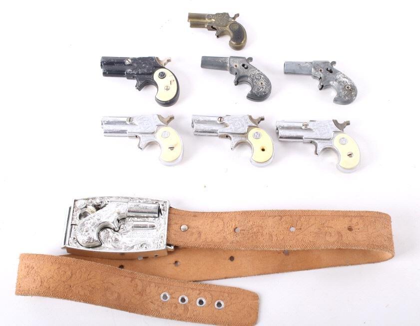 Toy Derringer Gun Collection