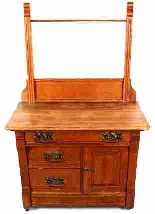 Antique Dry Rack Dresser c 1900