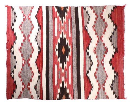 Navajo Klagetoh Hand Woven Wool Rug