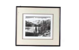 Willard Stephen 18941966 Eastern Sierra Lake