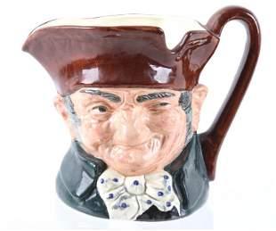 Old Charley Royal Doulton Co Toby Character Mug