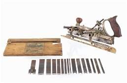 1890s Stanley 45 Adjustable Combination Plane