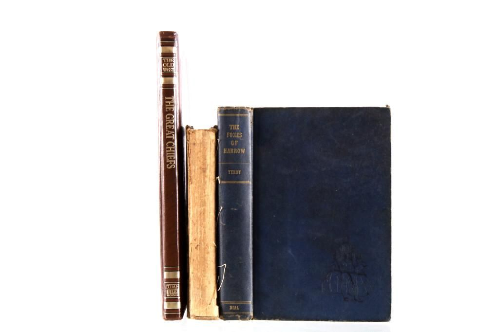 Three American History Non Fiction Book Collection