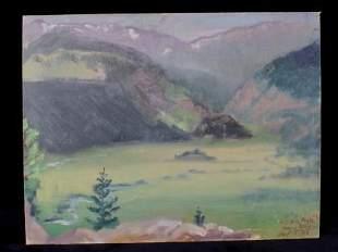 Original Carl Tolpo Moraine Park Rocky Mountains