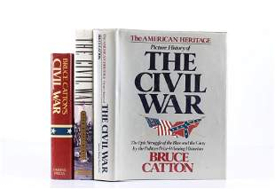Collection of Three 20th C Civil War History Books
