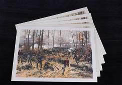 Louis Prang Battle of Shiloh Chromolitho 1888 (5)