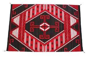 Klagetoh Ganchos Viejos Wool Rug by Elena Martinez