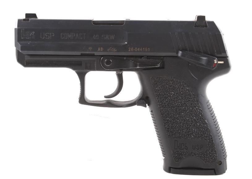 Heckler & Koch USP Compact .40 S&W Pistol & Case