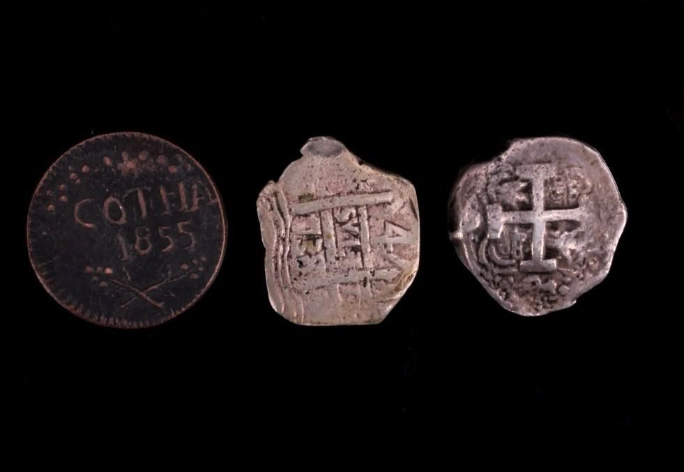 Collection of Three Ancient Byzantine Coins