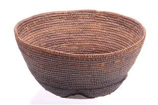 African Dogon Hand Woven Basket c. Early 1900's