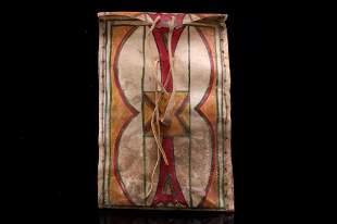 Plains Indians Parfleche Polychrome Envelope