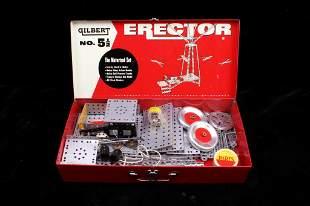Gilbert Erector Motorized Erector Set circa 1957