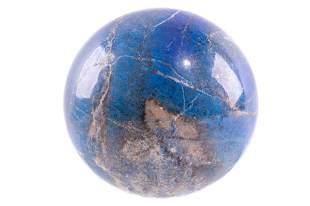 Natural 15lb 15.6 ounce Lapis Lazuli Sphere