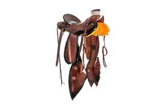 Lambert Custom Vaquero Wade Tree Silver Saddle