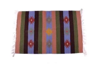 Zapotec Banded Chinle Handmade Wool Rug