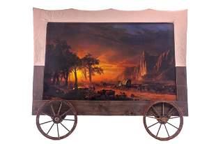 Lambert Custom Wagon Frame Albert Bierstadt Litho