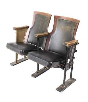 19th Century Saskatchewan Theater Chairs