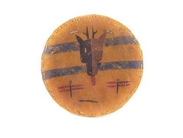 Cheyenne Elk Dreamer War Shield Rare 19th Century