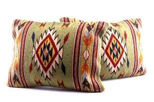 Efrain's Diamante Set of Two Pillows E. Gonzalez