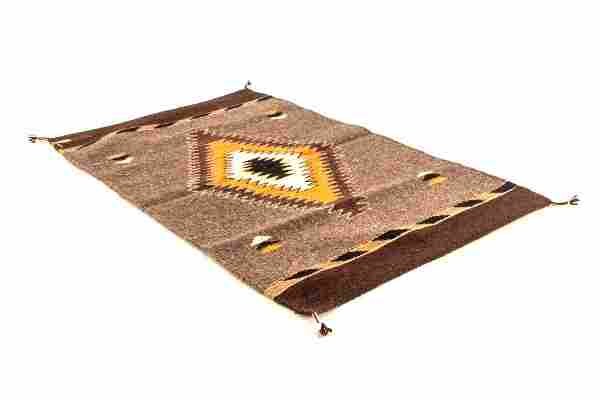 Eye Dazzler Ganado Wool Rug by Pedro Montano