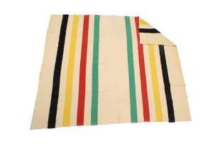 Original Hudson Bay Wool Trade Blanket