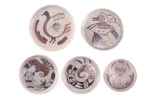 Pacific Northwest Tribal Ceramic Plate Collection