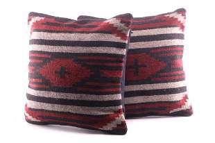 Cruces Saltillo Wool Set of Pillows Tito Gutierrez