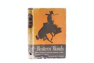 1945 Western Words: Dictionary by Ramon F. Adams