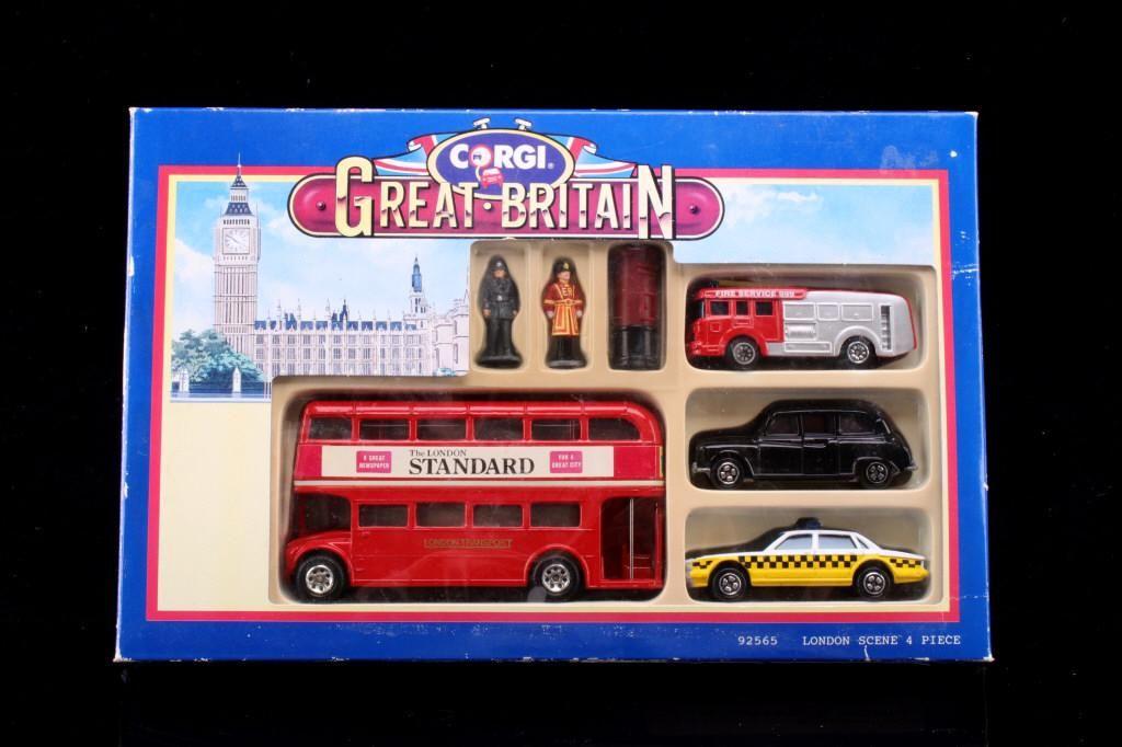 Corgi Great Britain Toy Set Mint Condition
