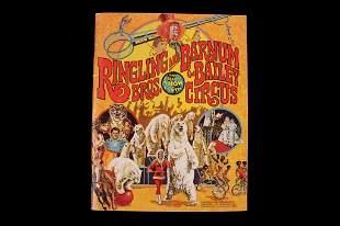 Ringling & Barnum Bros & Bailey Circus Program